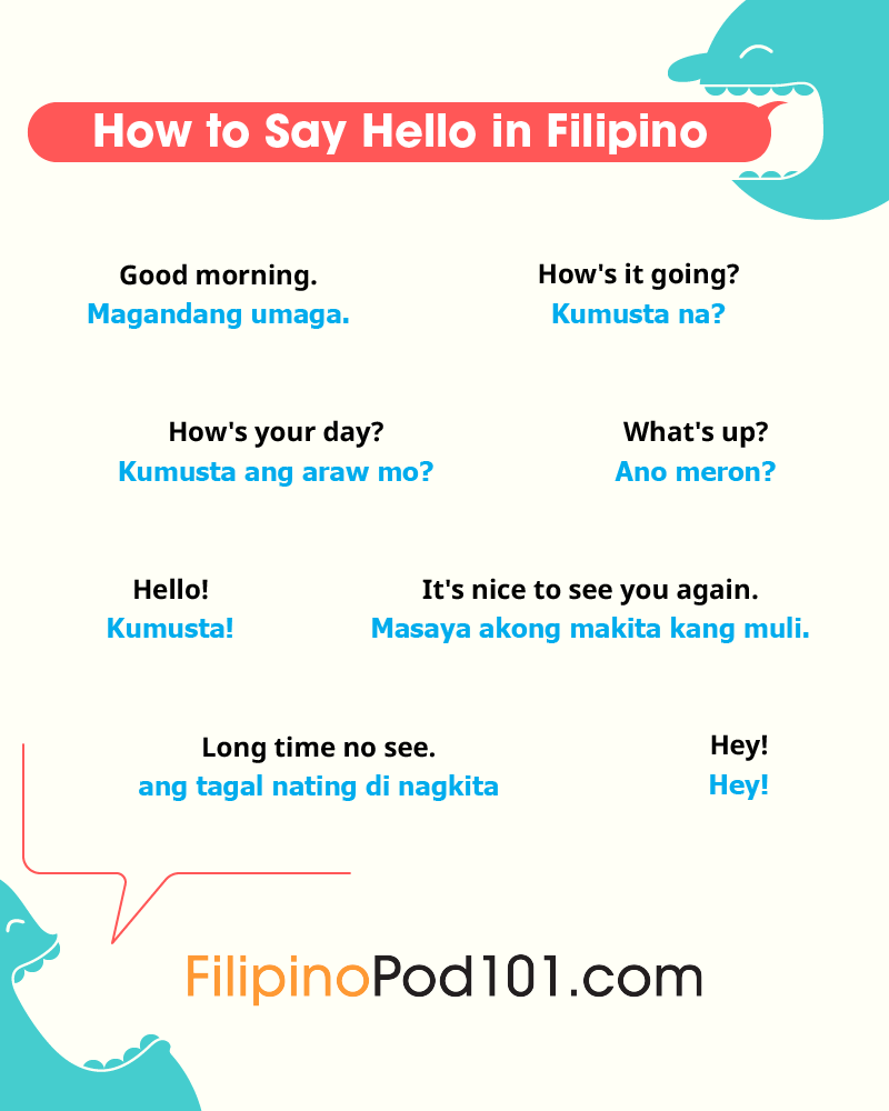 graphic about Watch Ya Mouth Printable Phrases titled Filipino Terms