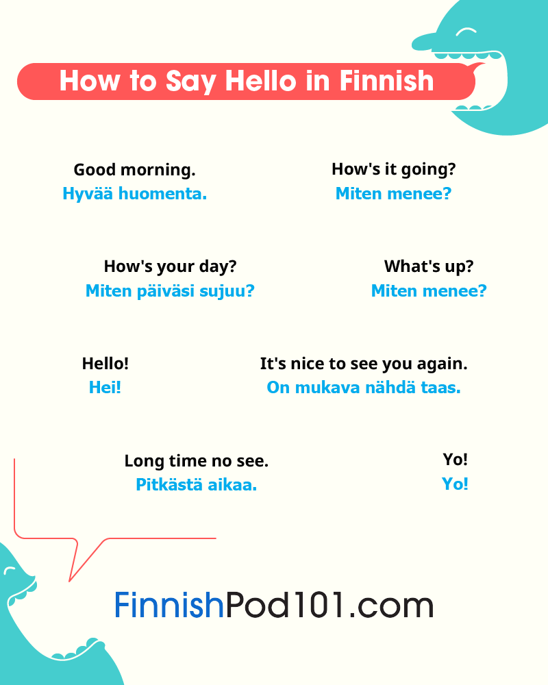 Finnish Greetings