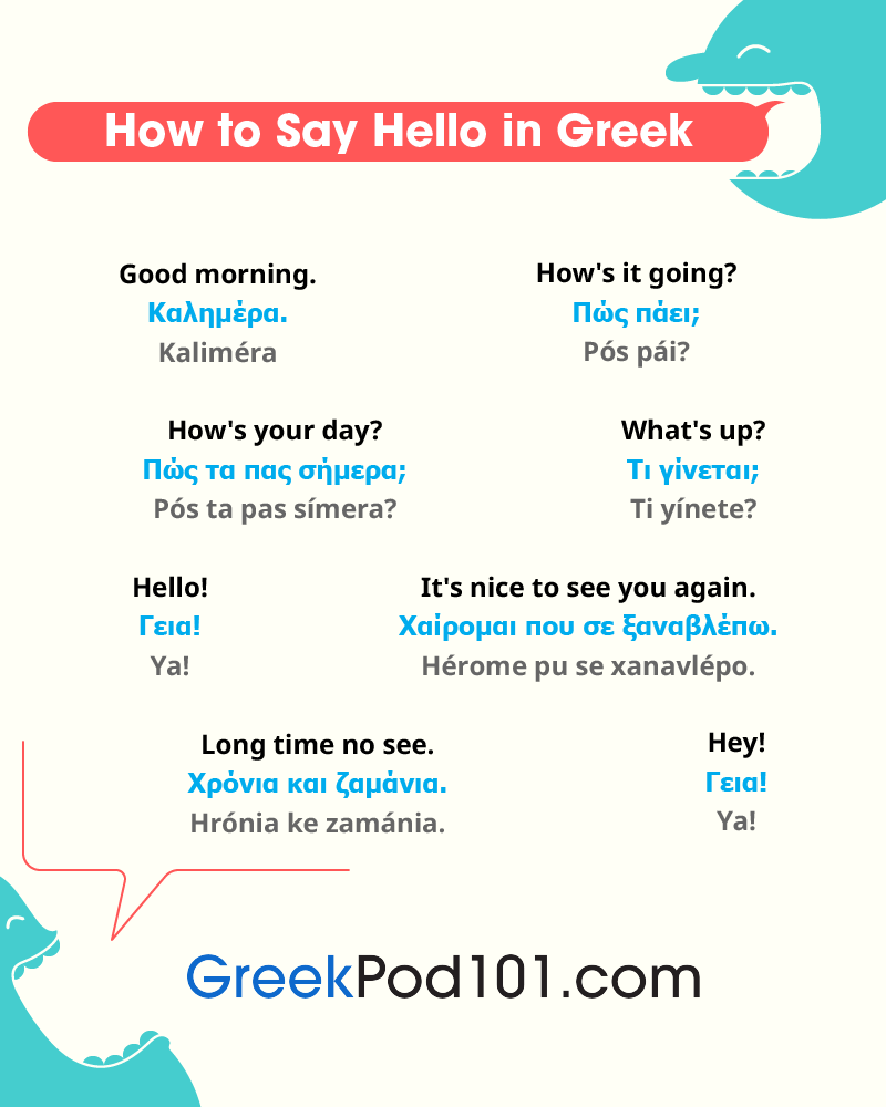 Greek Greetings