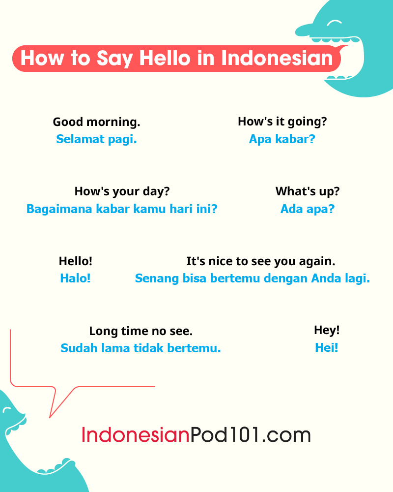 Indonesian Greetings