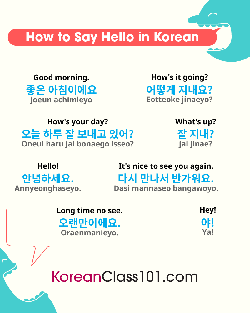 Korean Greetings