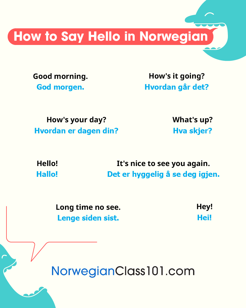 How to Say Hello in Norwegian: Guide to Norwegian Greetings