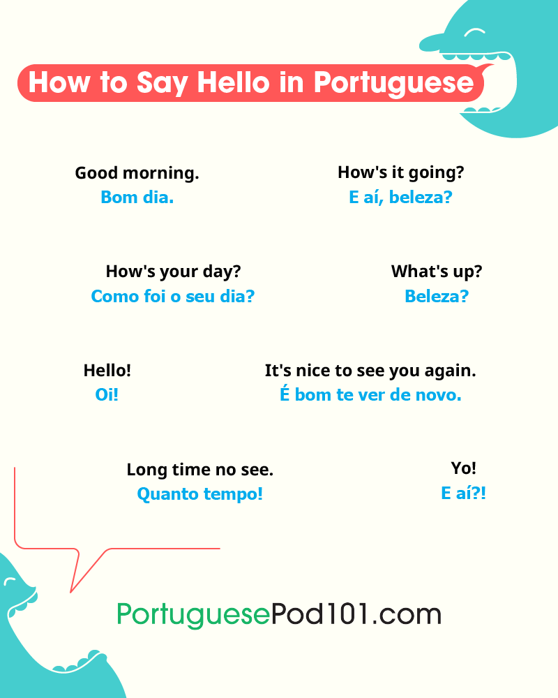 Portuguese Greetings