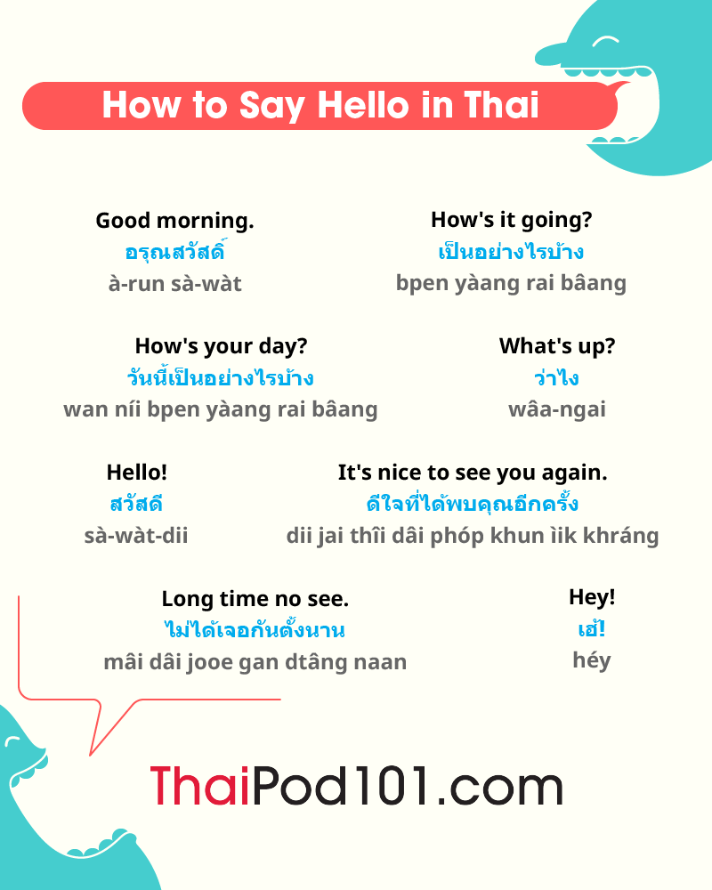 Thai Greetings
