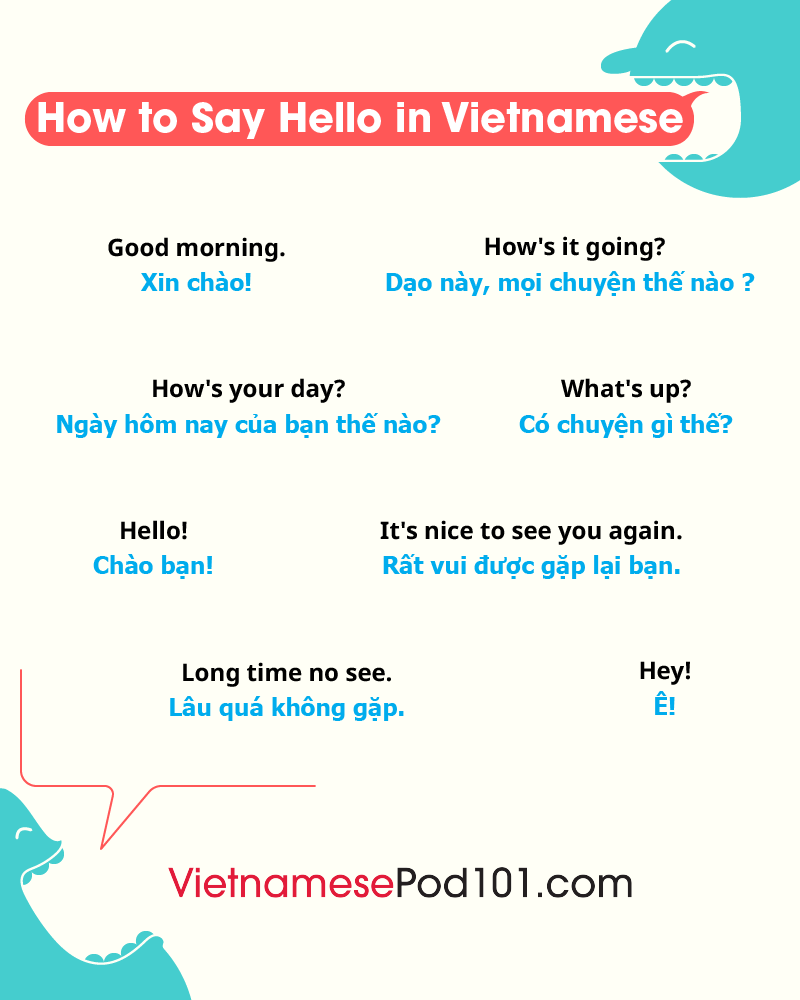 Vietnamese Greetings
