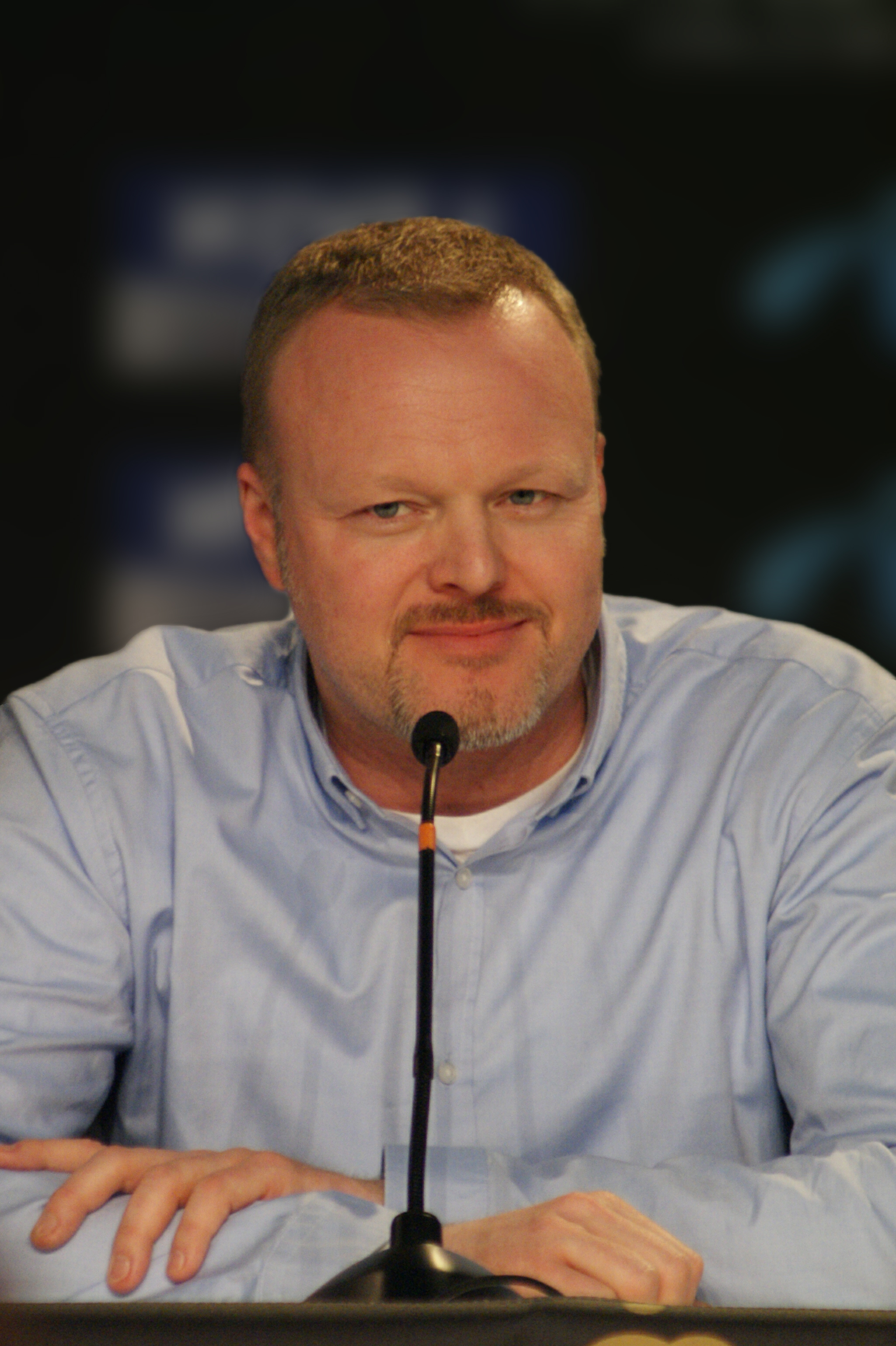 The TV personality Stefan Raab