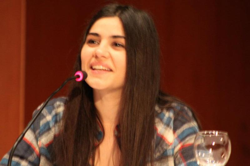Zeynep Çamcı, an Actress in Beni Boyle Sev