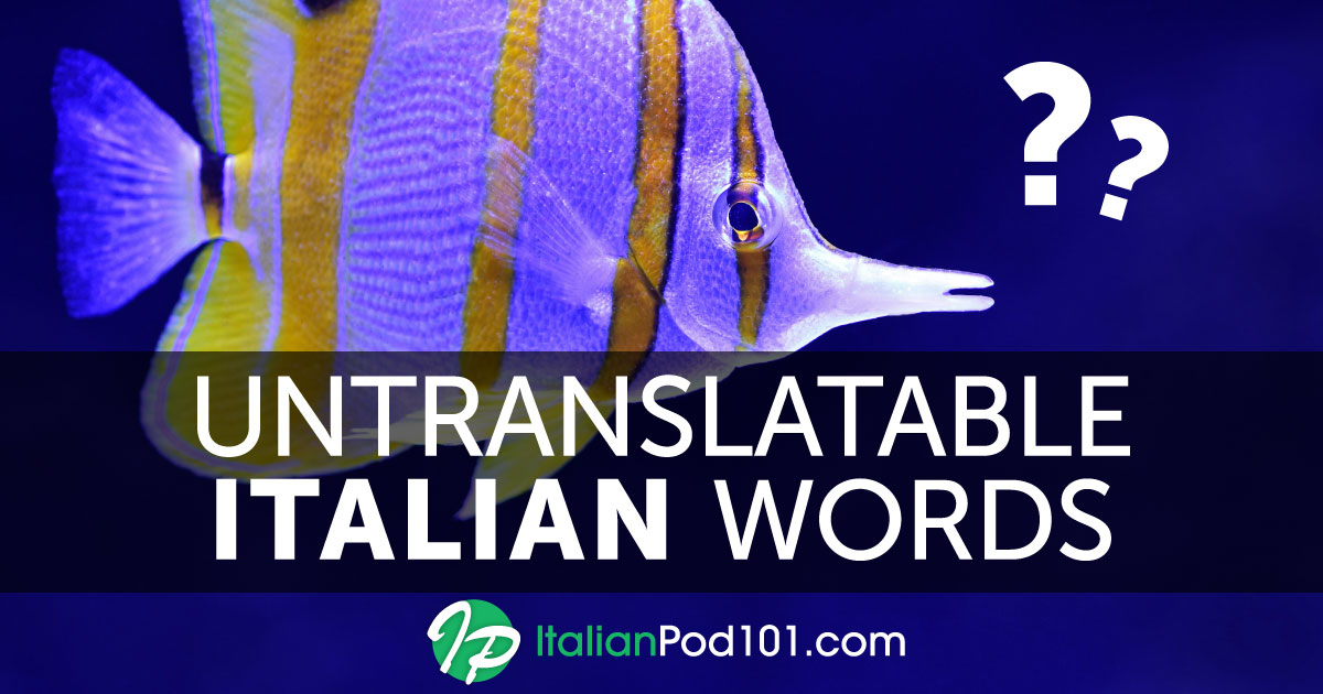 e660ce536 Untranslatable Italian Words