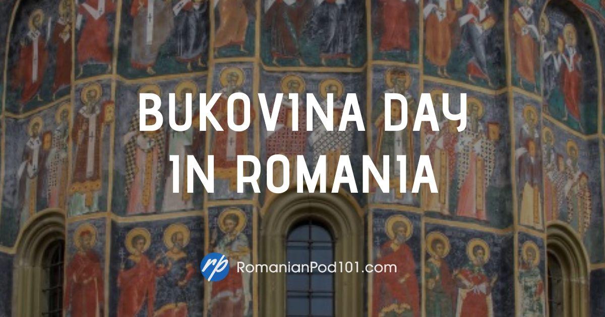 Bukovina Day