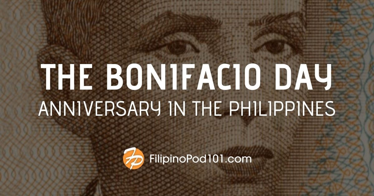 The Bonifacio Day Anniversary in the Philippines