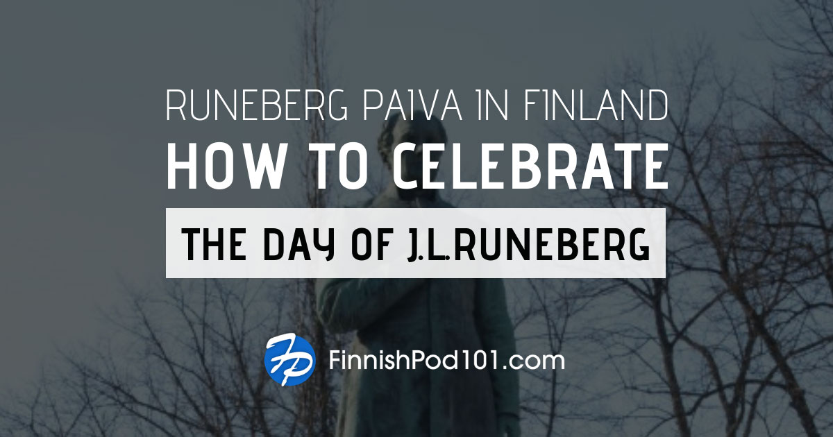 Day of Johan Ludvig Runeberg