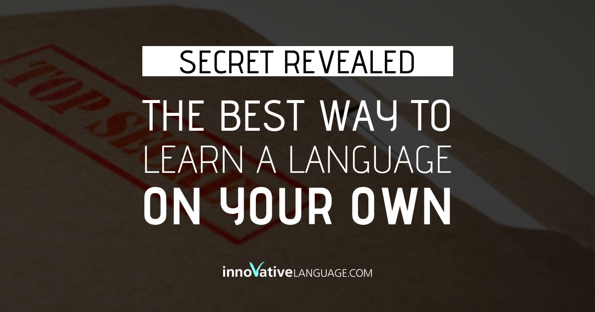 Learning A Language on Your Own