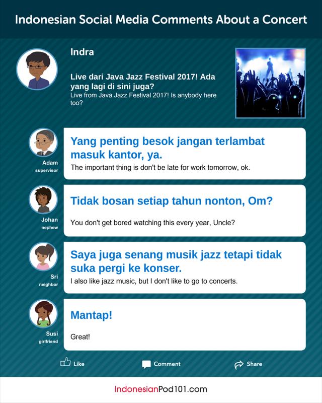 Concert Indonesian
