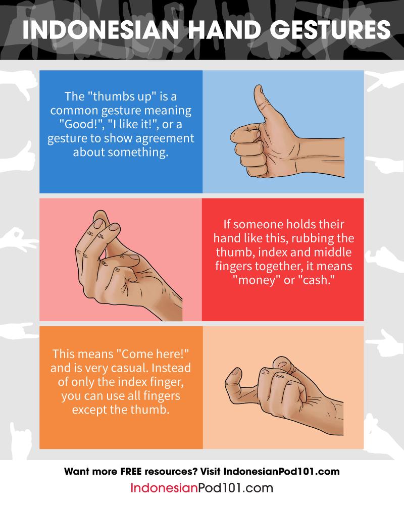 Indonesian Gestures