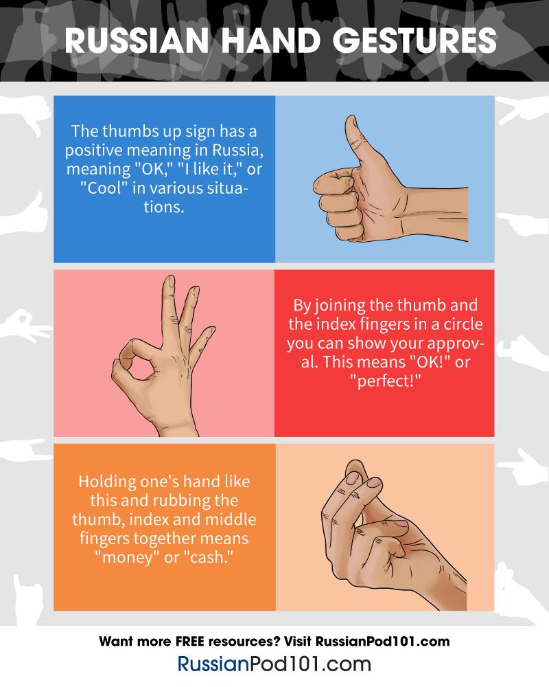 Russian Hand Gestures