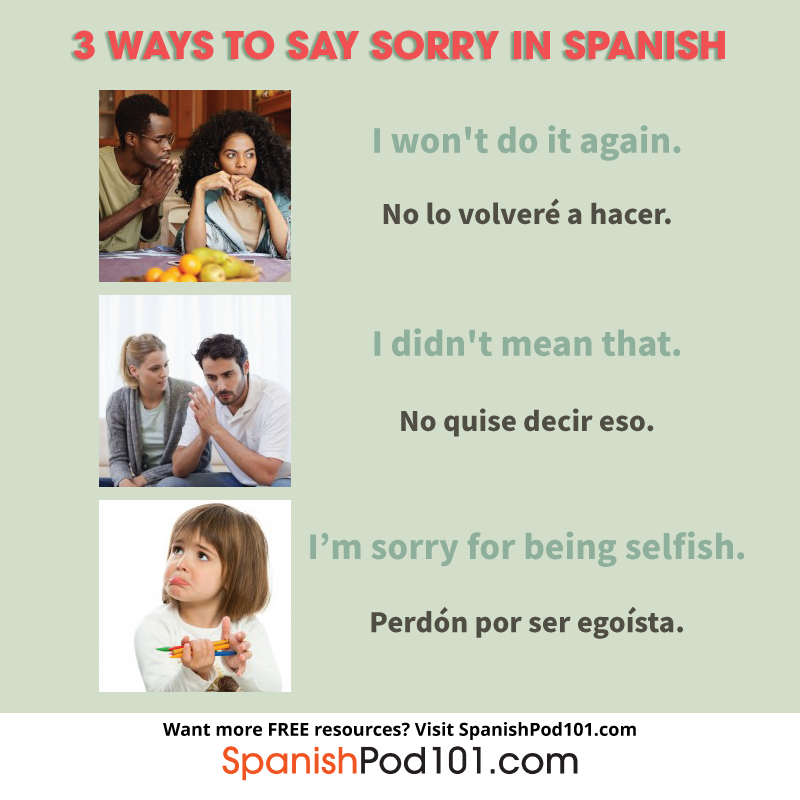 How To Say Sorry In Spanish — thank you very much — you are welcome — из кафе в спортивный центр — excuse me, could you tell me the way to the sports centre, please? how to say sorry in spanish
