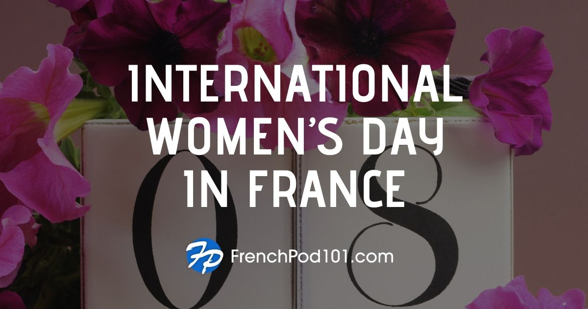 Celebrating International Women's Day in France