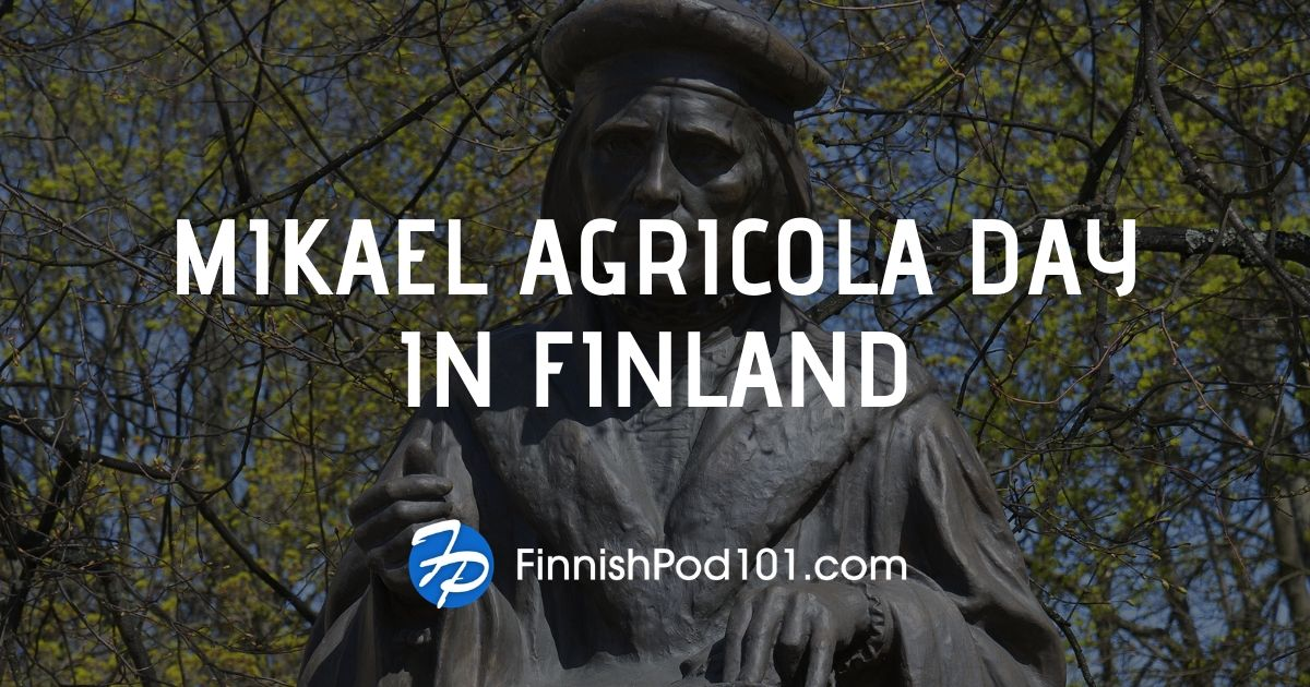 Celebrating Mikael Agricola Day in Finland