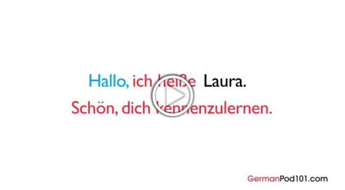 Click here to learn how to introduce yourself in German!