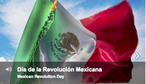 D�a de la Revolución Mexicana (Mexican Revolution Day)