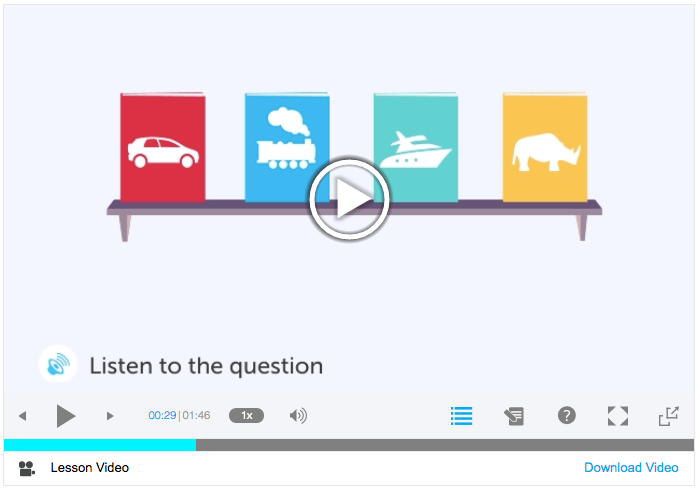 Try Our Listening Comprehension Series!