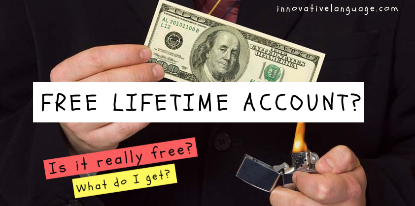 free lifetime account thaipod101 benefit