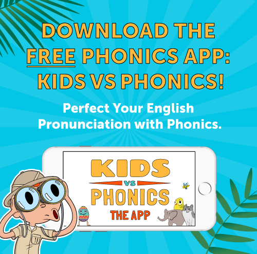 Download the FREE phonics app!