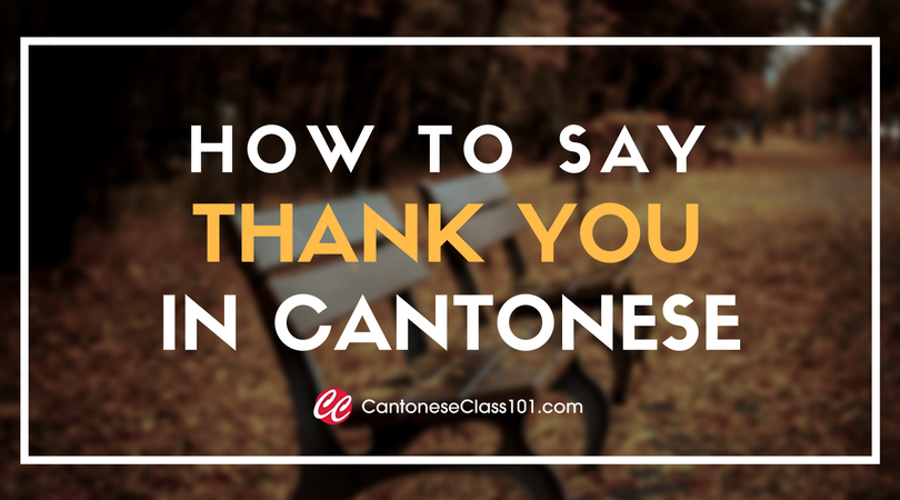 How to Say Thank You in Cantonese