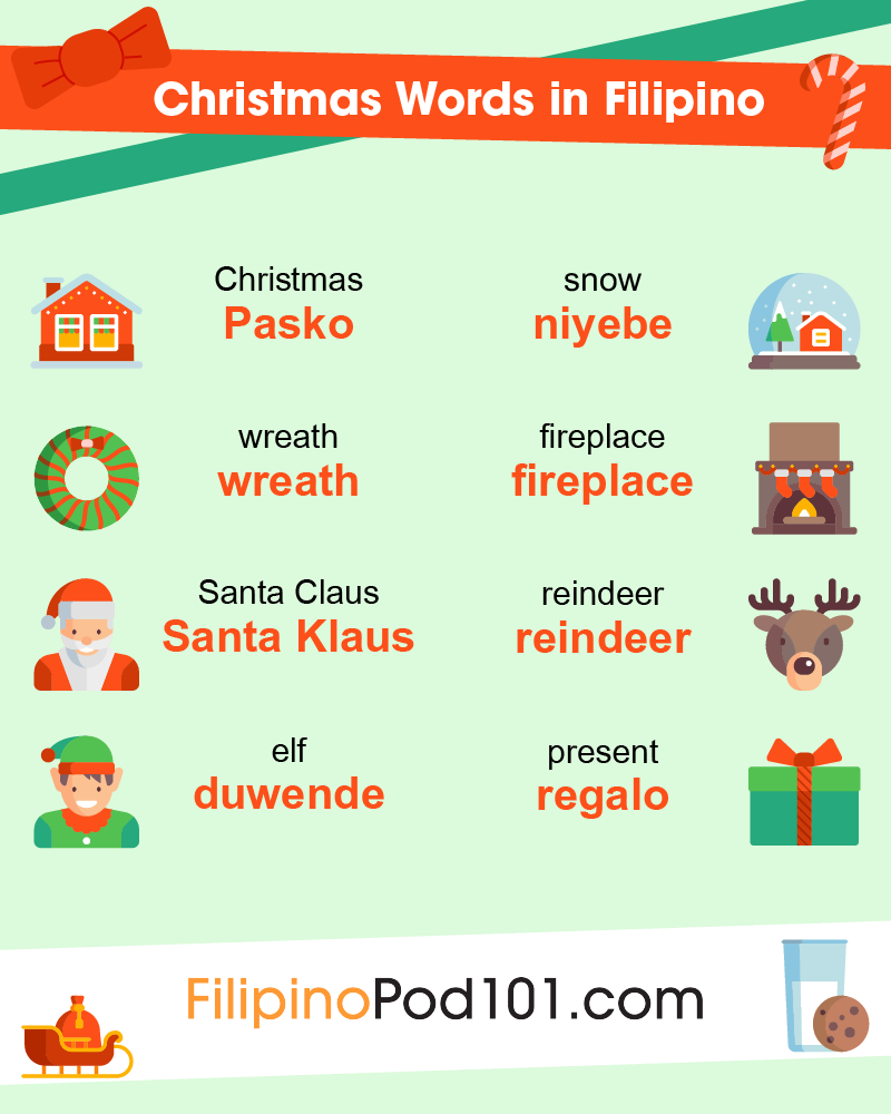 Christmas Words in Filipino
