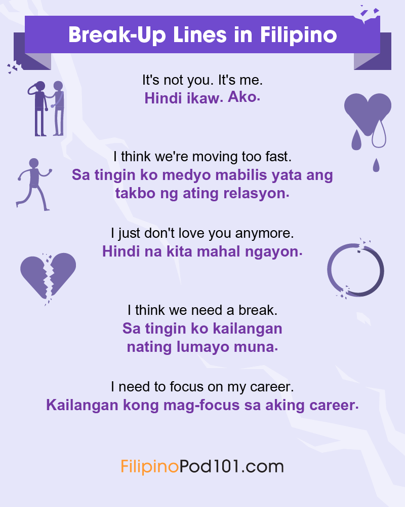 Filipino Break-Up Lines