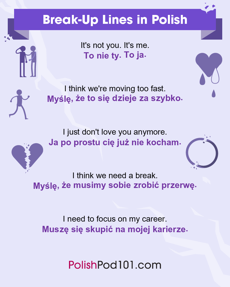 Polish Break-Up Lines