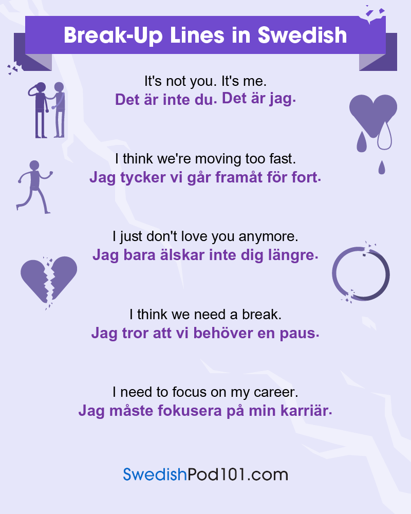 Swedish Break-Up Lines