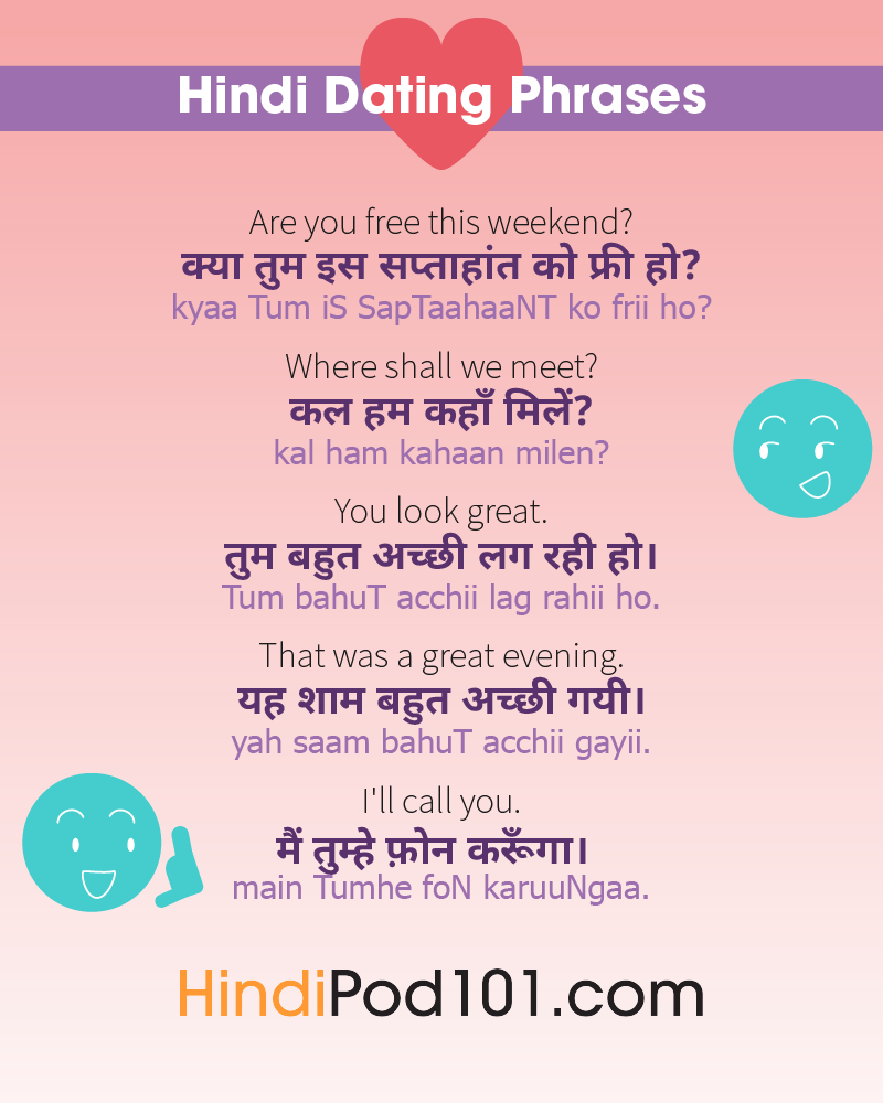 happy dating meaning in hindi