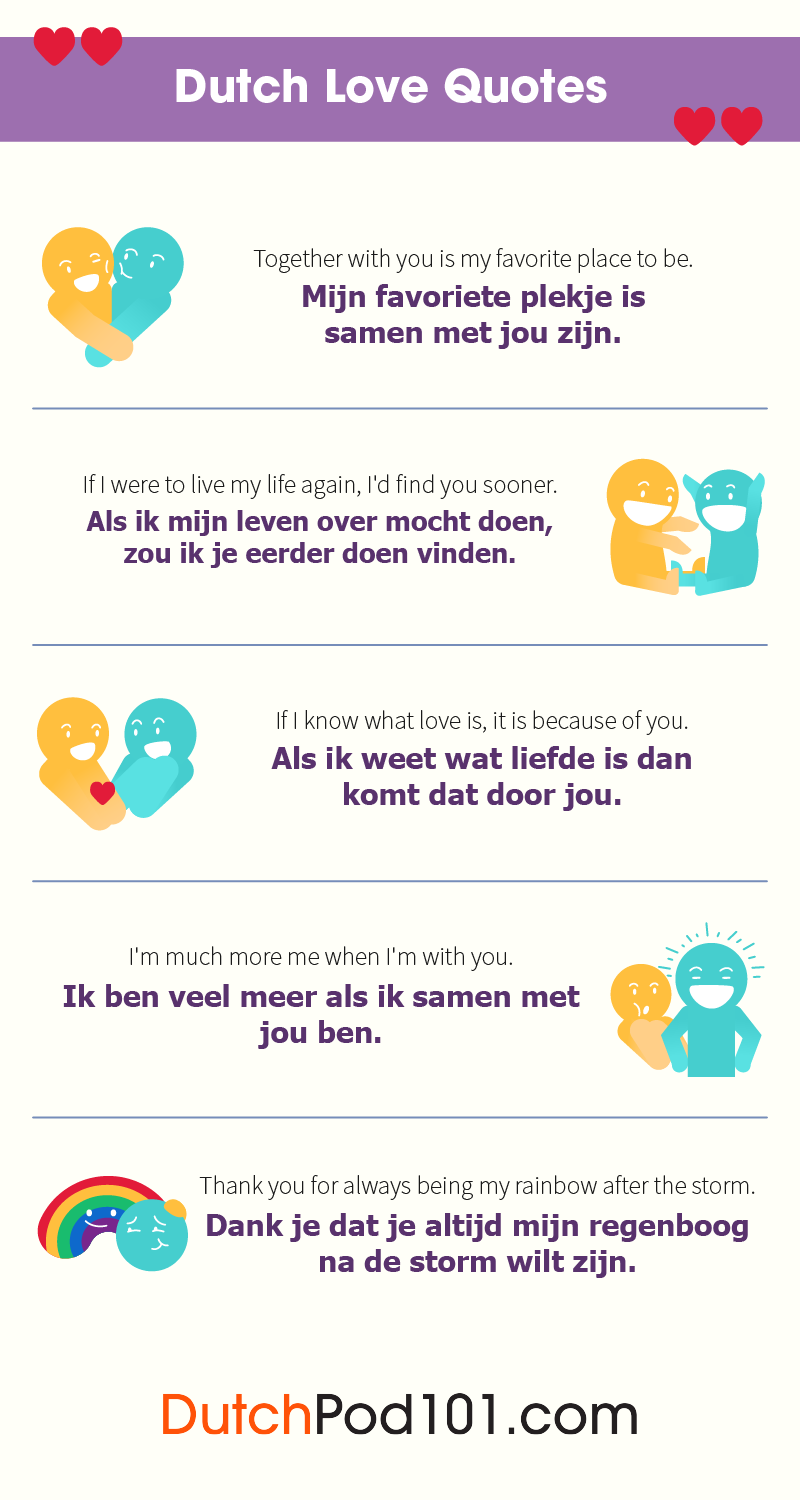 Dutch Love Quotes