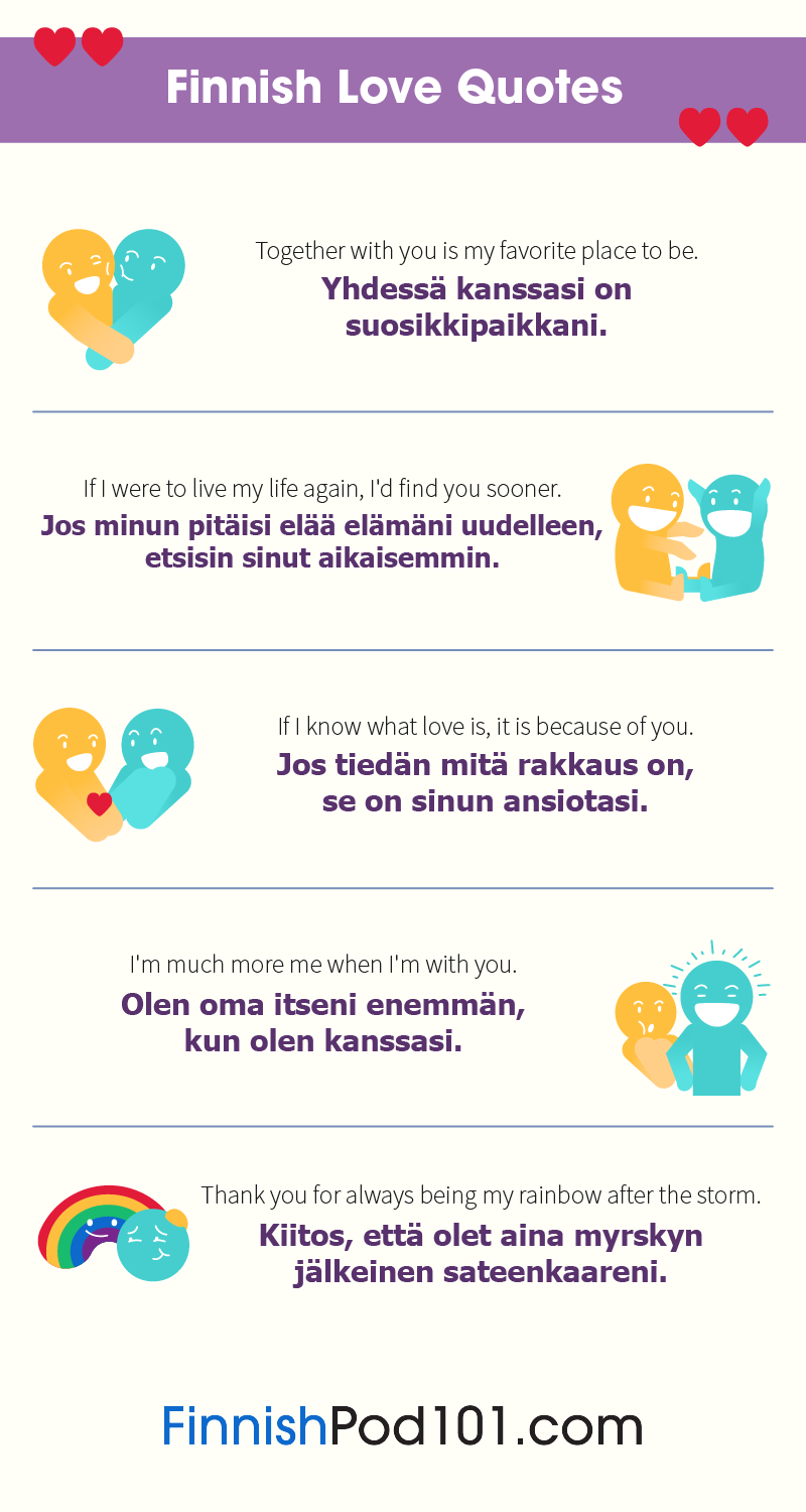 Finnish Love Quotes