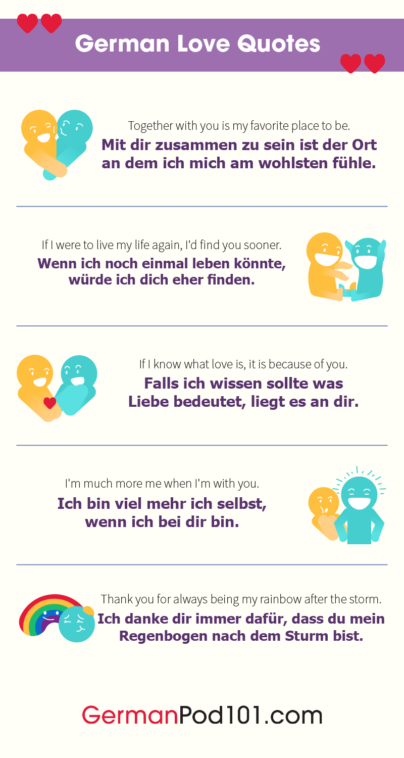 German Love Quotes