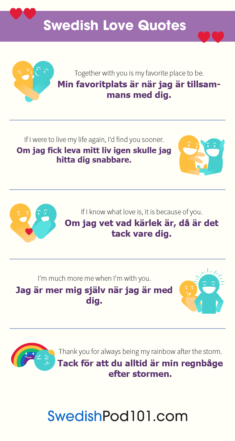 Swedish Love Quotes