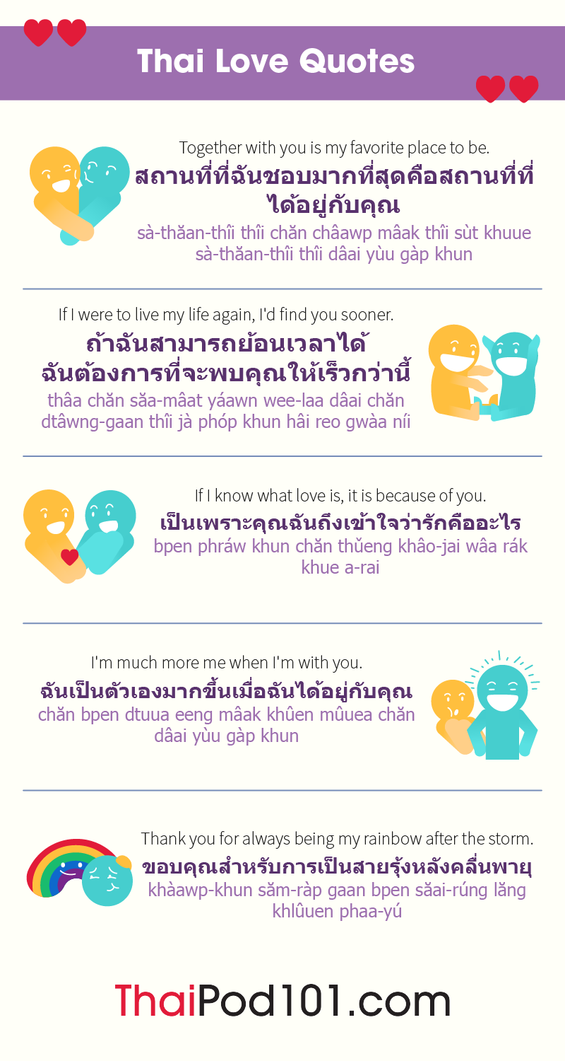 Thai Love Quotes