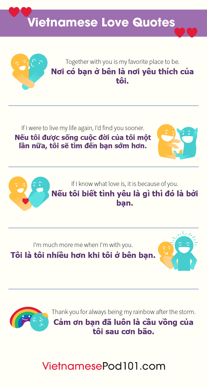Vietnamese Love Quotes