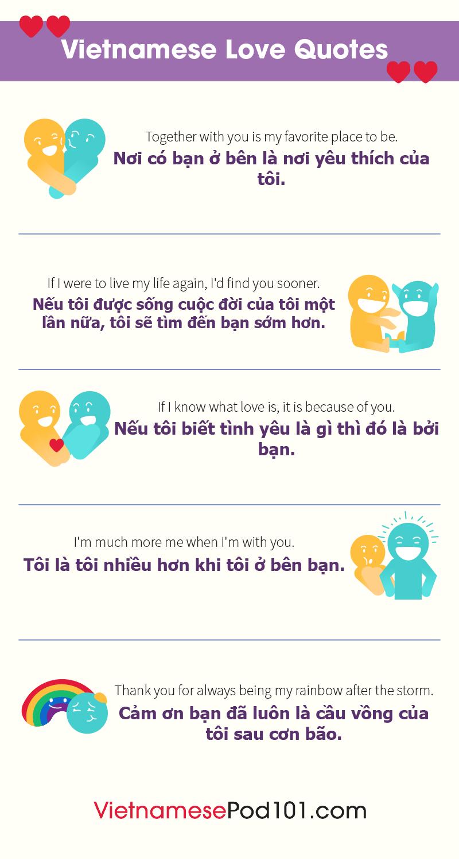 Vietnamese Love Quotes