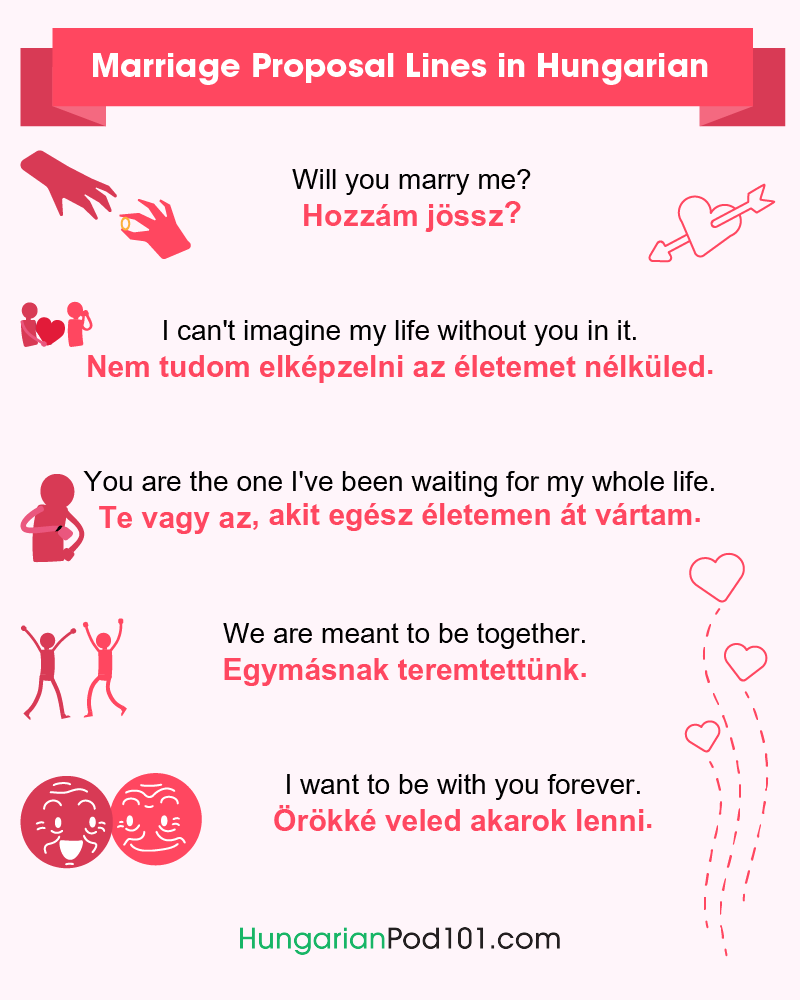 Hungarian Marriage Proposal Lines