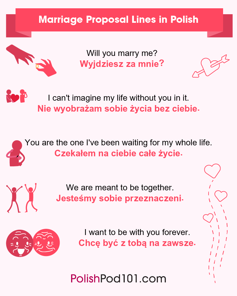 Polish Marriage Proposal Lines