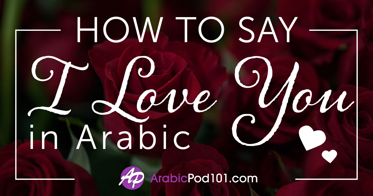 How to Say I Love You in Arabic - Romantic Word List