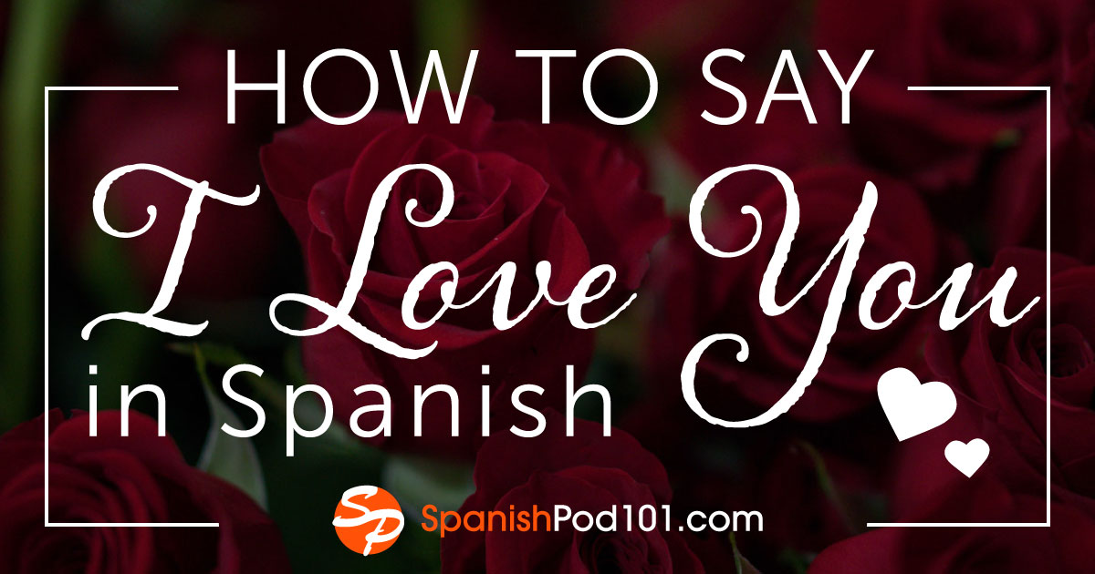 How to say they are in love in spanish