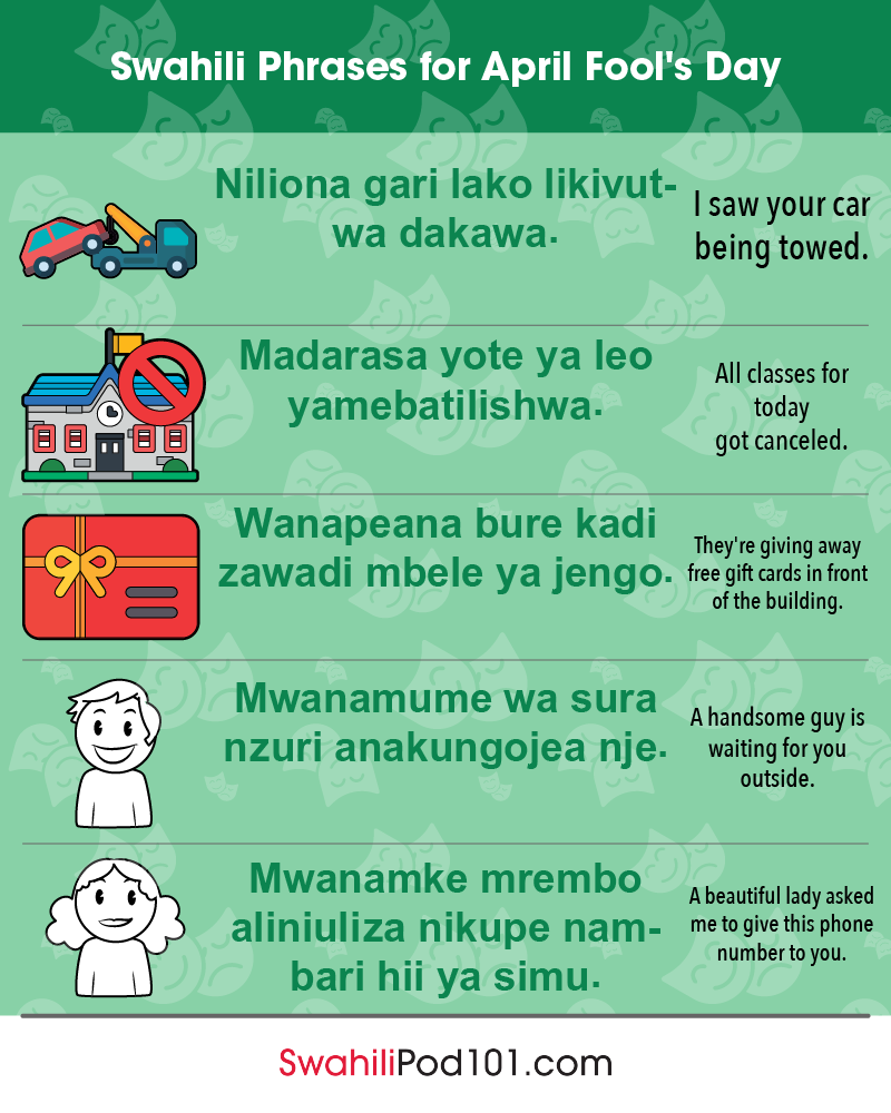 13 Helpful Phrases You Can Say To Calm >> Swahili Phrases