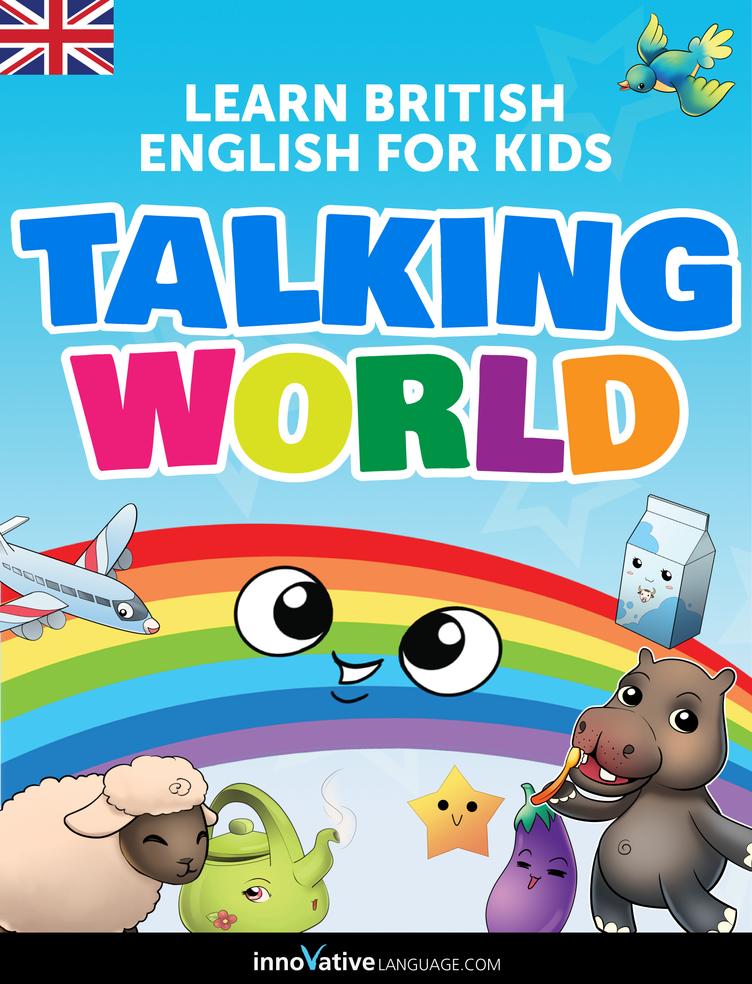 Learn british english for kids talking world for the ipad
