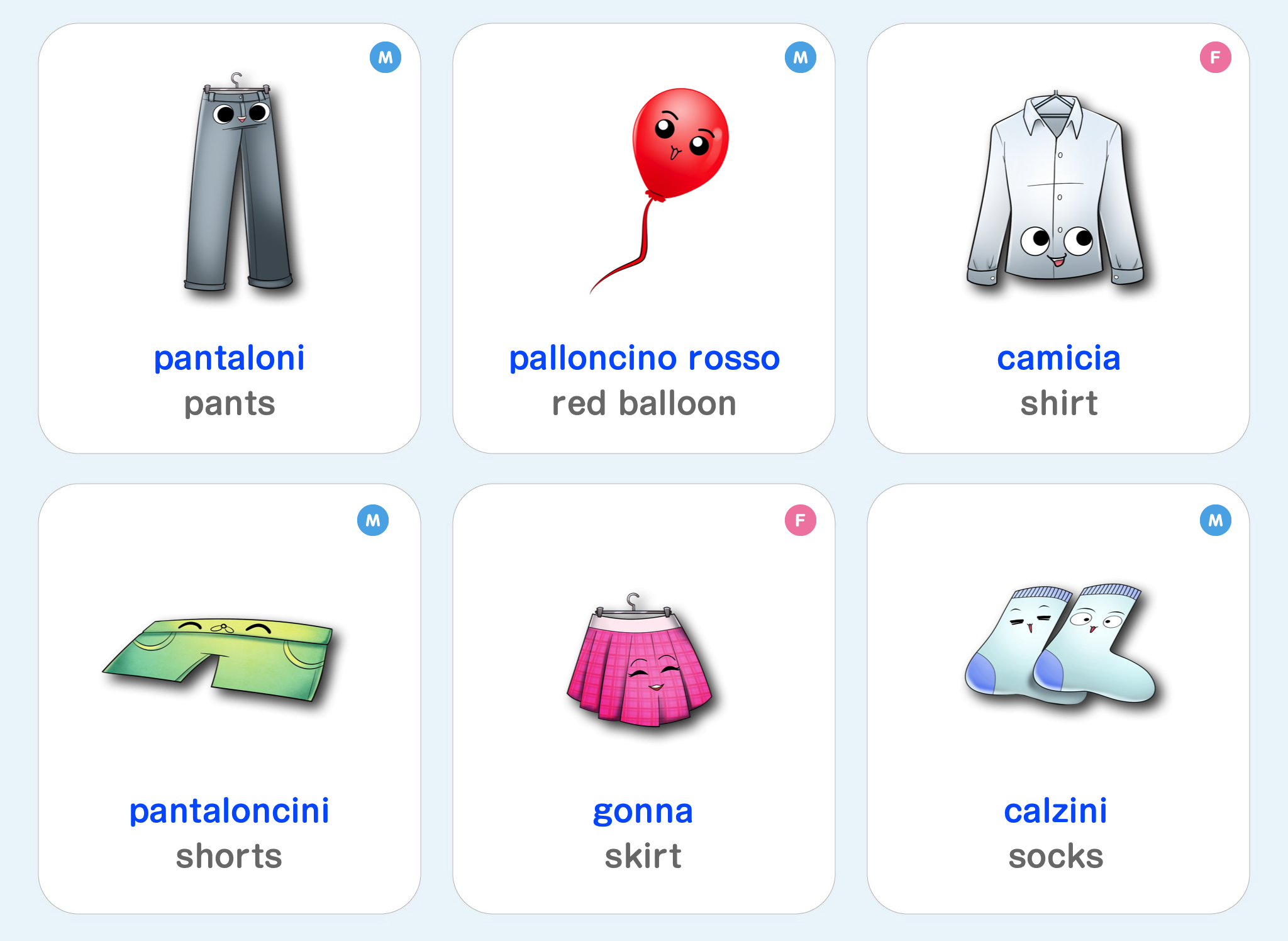 Learn Italian for Kids - Best Language Games, Websites ...