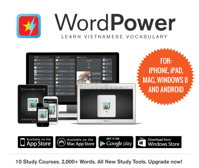 Boost Your Vietnamese Vocab with the WordPower Vietnamese Windows 8 App