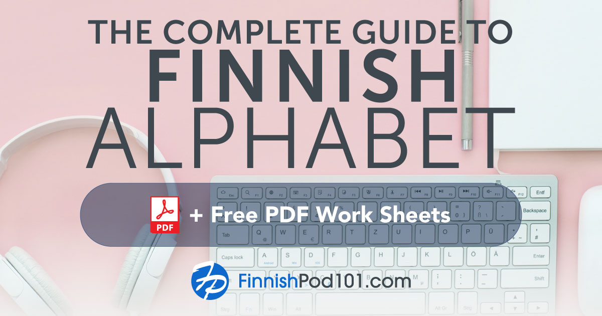 Finnish Alphabet