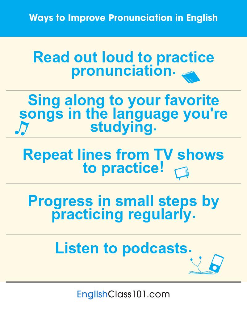 Correct Pronunciation